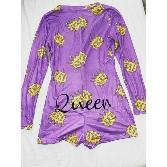 Queen Romper Pajamas